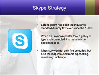 Couple holding door keys PowerPoint Templates - Slide 8
