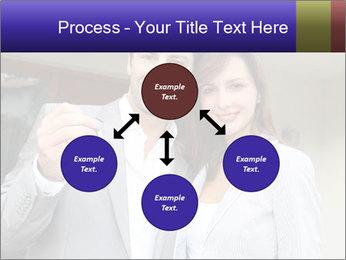 Couple holding door keys PowerPoint Templates - Slide 91