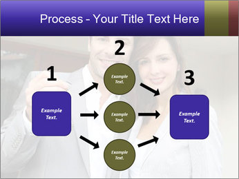 Couple holding door keys PowerPoint Templates - Slide 92