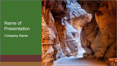 Stone gallery PowerPoint Template