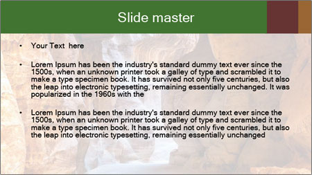 Stone gallery PowerPoint Template - Slide 2