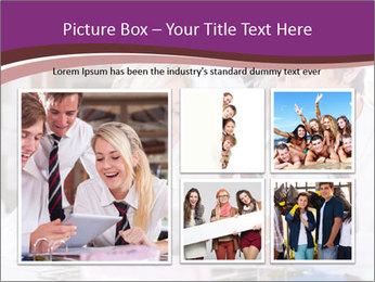 School students PowerPoint Templates - Slide 19