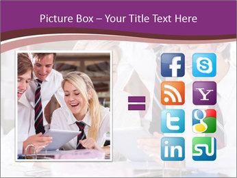 School students PowerPoint Templates - Slide 21