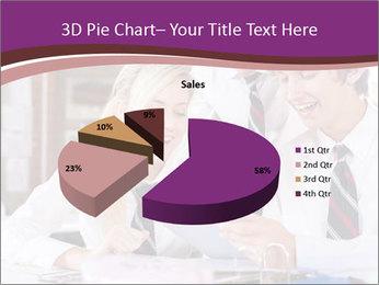 School students PowerPoint Templates - Slide 35