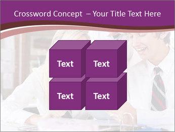 School students PowerPoint Templates - Slide 39