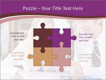 School students PowerPoint Templates - Slide 43