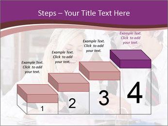 School students PowerPoint Templates - Slide 64