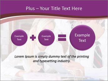 School students PowerPoint Templates - Slide 75