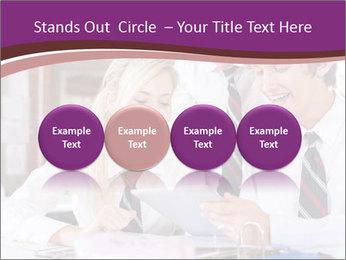School students PowerPoint Templates - Slide 76