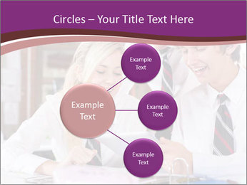 School students PowerPoint Templates - Slide 79