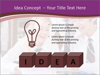 School students PowerPoint Templates - Slide 80