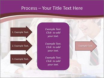 School students PowerPoint Templates - Slide 85