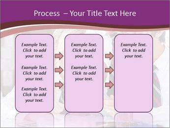 School students PowerPoint Templates - Slide 86