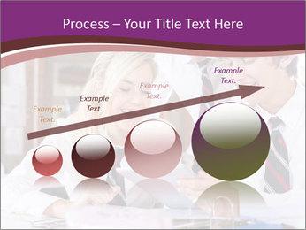 School students PowerPoint Templates - Slide 87