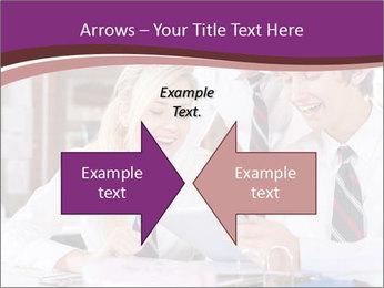 School students PowerPoint Templates - Slide 90