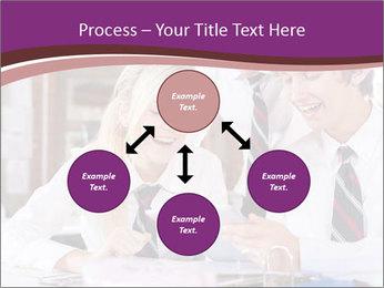 School students PowerPoint Templates - Slide 91