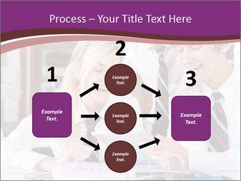 School students PowerPoint Templates - Slide 92
