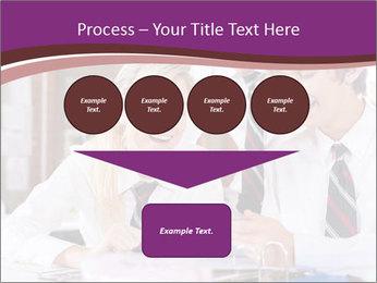 School students PowerPoint Templates - Slide 93