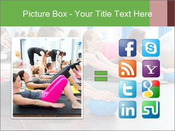 Aerobics pilates PowerPoint Templates - Slide 21