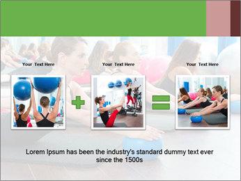 Aerobics pilates PowerPoint Templates - Slide 22