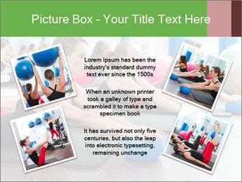 Aerobics pilates PowerPoint Templates - Slide 24