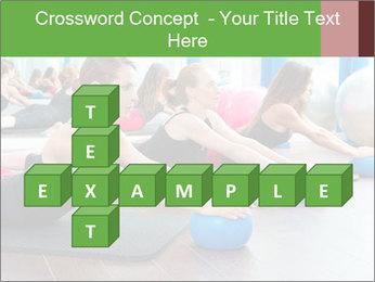 Aerobics pilates PowerPoint Templates - Slide 82