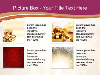 Abstract Christmas PowerPoint Template - Slide 14