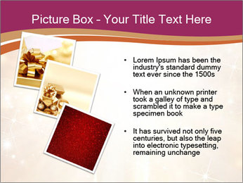 Abstract Christmas PowerPoint Template - Slide 17