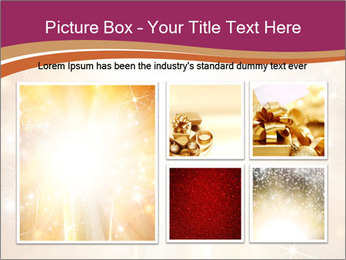 Abstract Christmas PowerPoint Template - Slide 19