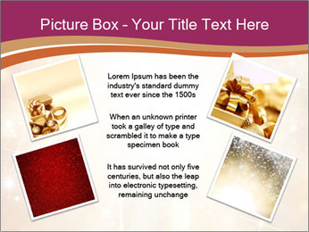 Abstract Christmas PowerPoint Template - Slide 24