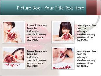 Female lips PowerPoint Template - Slide 14