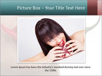 Female lips PowerPoint Template - Slide 15