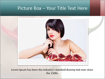 Female lips PowerPoint Templates - Slide 16