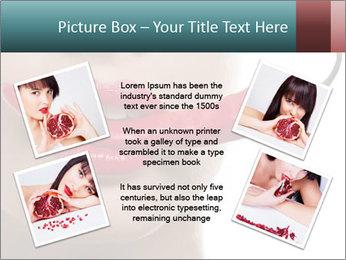Female lips PowerPoint Template - Slide 24