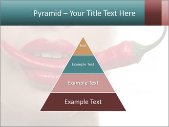 Female lips PowerPoint Templates - Slide 30