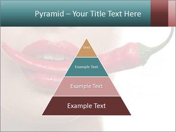 Female lips PowerPoint Template - Slide 30