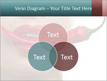 Female lips PowerPoint Templates - Slide 33