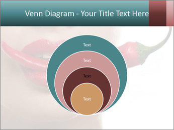 Female lips PowerPoint Templates - Slide 34