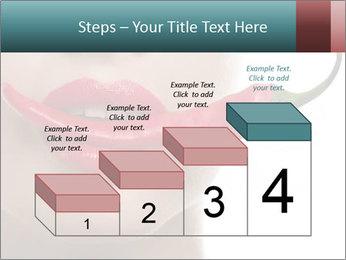 Female lips PowerPoint Template - Slide 64