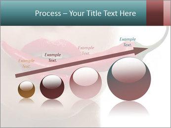 Female lips PowerPoint Template - Slide 87