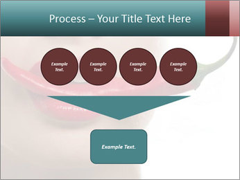 Female lips PowerPoint Templates - Slide 93