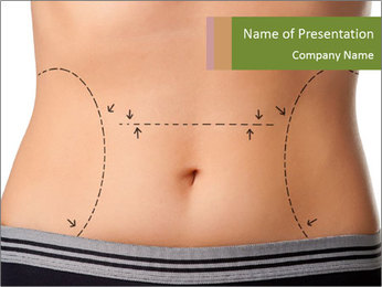 Plastic surgery PowerPoint Template - Slide 1