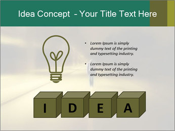 Darkness on the middle of road PowerPoint Template - Slide 80