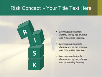 Darkness on the middle of road PowerPoint Template - Slide 81