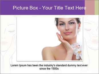 Woman in process of washing face PowerPoint Templates - Slide 16
