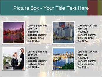 Night lights City PowerPoint Templates - Slide 14