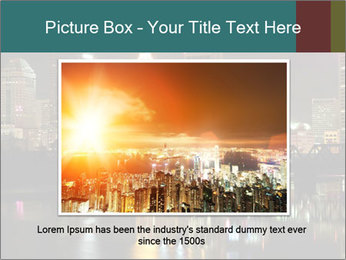 Night lights City PowerPoint Templates - Slide 15