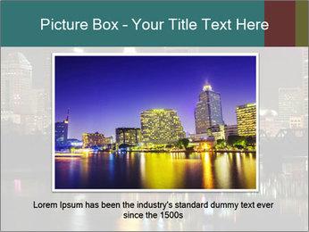 Night lights City PowerPoint Templates - Slide 16