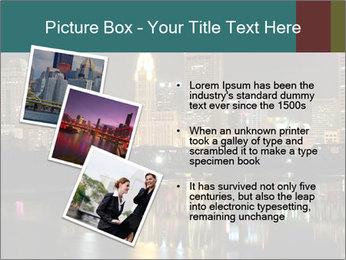 Night lights City PowerPoint Templates - Slide 17