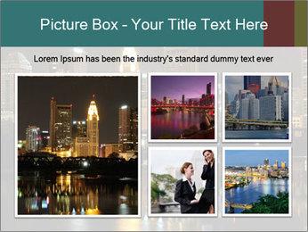 Night lights City PowerPoint Templates - Slide 19